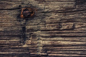 Wood Texture with Metal