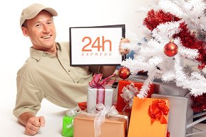 24 Hour Express Delivery, Even On Christmas!