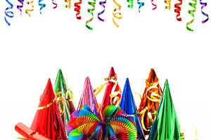 Carnival party decoration