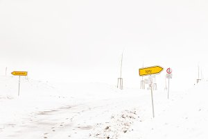 Snowcovered Road