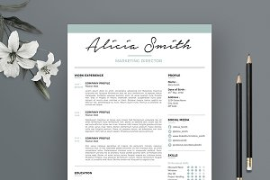 Resume Template 3 pages | Minimalist