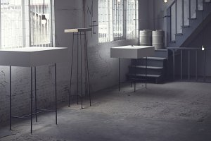 Modern rustic gallery