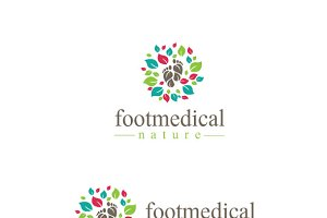 Footmedical Nature Logo
