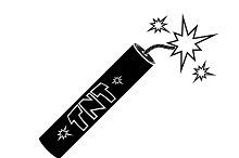 Vector icon of Dynamite
