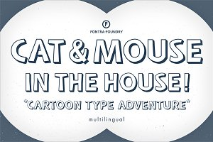 Cat&Mouse Typeface | SALE PRICE