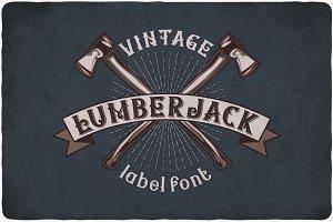 Lumberjack Typeface