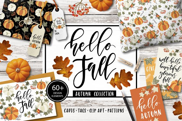 Autumn & Fall Clip art, quotes