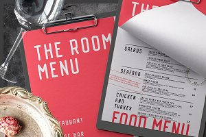 Food and Beverage Menu