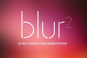 Blur2 : 16 Blurred Backgrounds