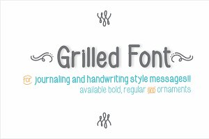 Grilled Font Bold