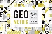 Modern Geometric Pattern Set