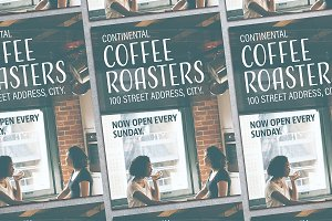 Coffee Roaster Flyer