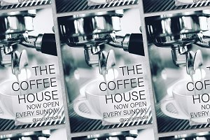 Coffee House Flyer Mockup