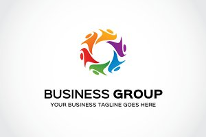 Business Group Logo Template