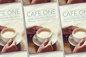 Cafe Flyer Mockup