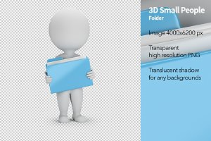 3D Small People - Folder