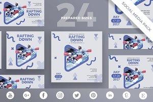 Social Media Pack | Rafting