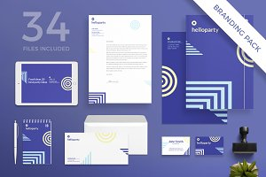 Branding Pack | Hello Party