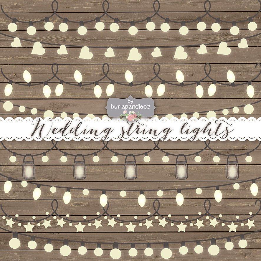 Vector String Lights Illustrations Creative Market