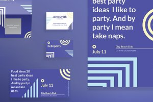 Print Pack | Hello Party