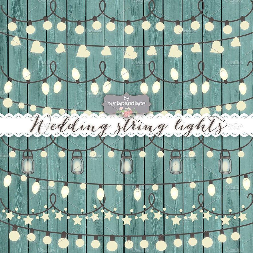 Vector string lights ~ Illustrations ~ Creative Market