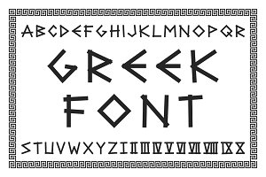 Ancient latin letters with numerals