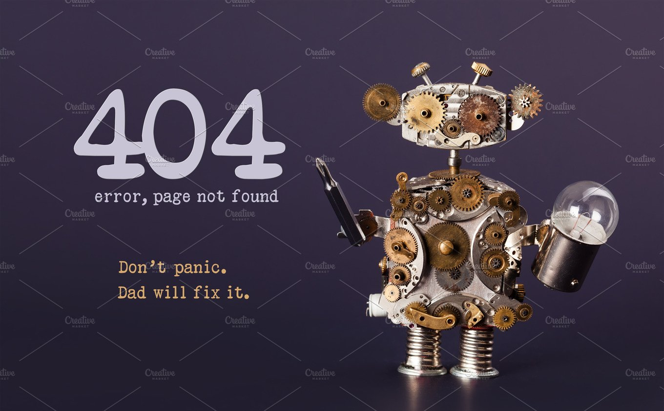 Web Site Under Construction Coming Soon Template Page Toy Robot