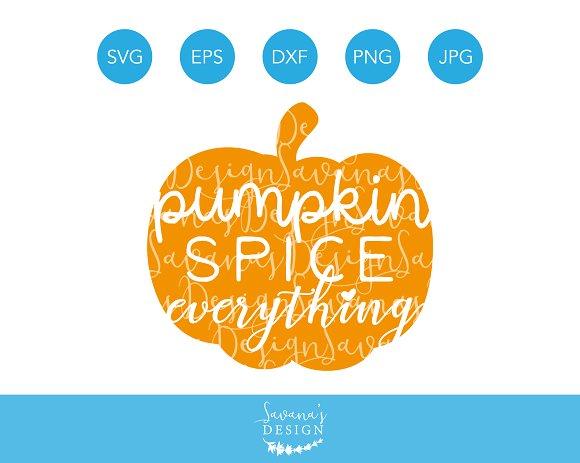 Pumpkin Spice Everything SVG