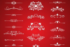 Valentines Day Page Decor