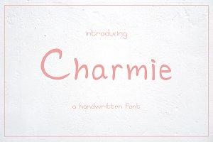 Charmie - a handwritten font