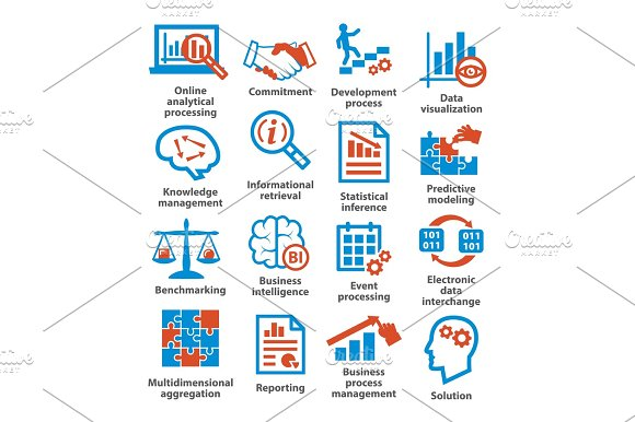 Business Management Icons Pack 04