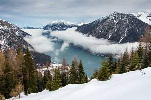 Winter landscape  Achensee