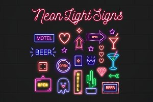 Neon Signs Collection