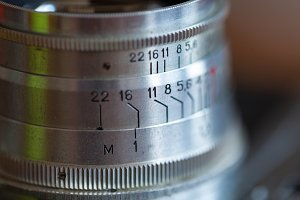 Analogue Jupiter lens closeup