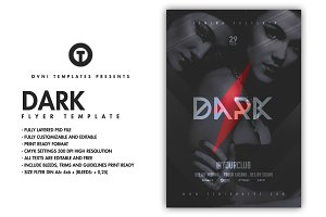 DARK Flyer Template