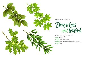Branches and Leaves Set