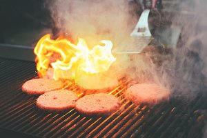 burgers burgers grilling