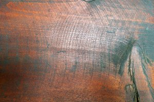 Cracked Wooden Board closeup