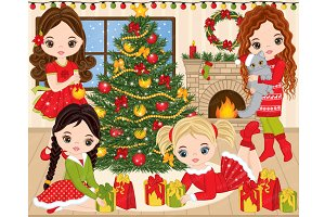 Vector Christmas Clipart
