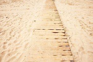 Path at the beach