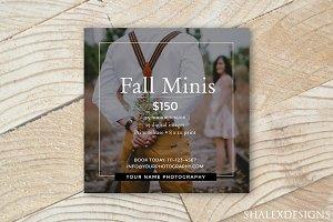 Fall Minis Template