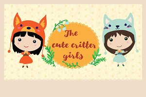 The cute critter girls
