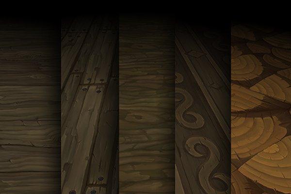 3D Wood: Bitgem - Texture Pack 06