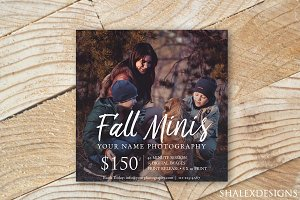 Photography Fall Minis Template