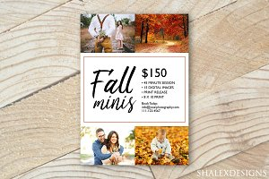 Fall Minis Template