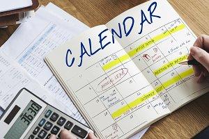 Calendar agenda reminder