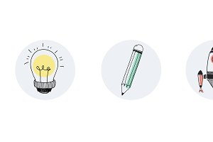 Vector of idea tools