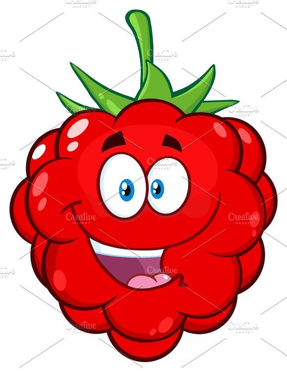 Happy Raspberry Fruit