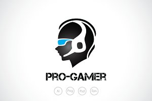 Pro Gamer Logo Template