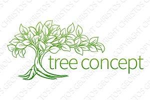 Tree Concept Icon
